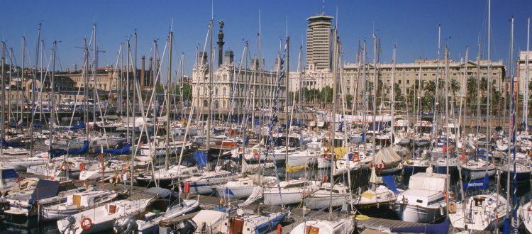 Иностранные корабли в Испании
