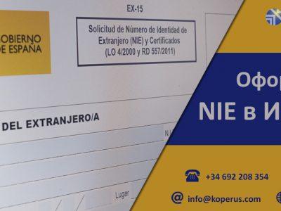 Оформление NIE в Испании